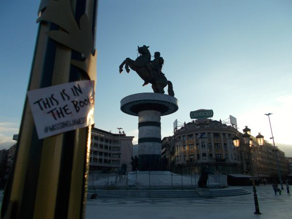 Your encounter with Alexander the Great in the capitol of Macedonia was your desination since leaving Berlin...