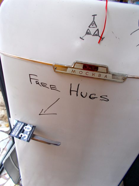 The message of the Third along with Free Hugs!
