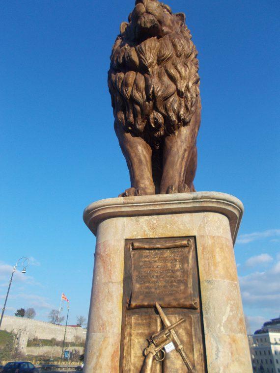 The LION of SKOPJE