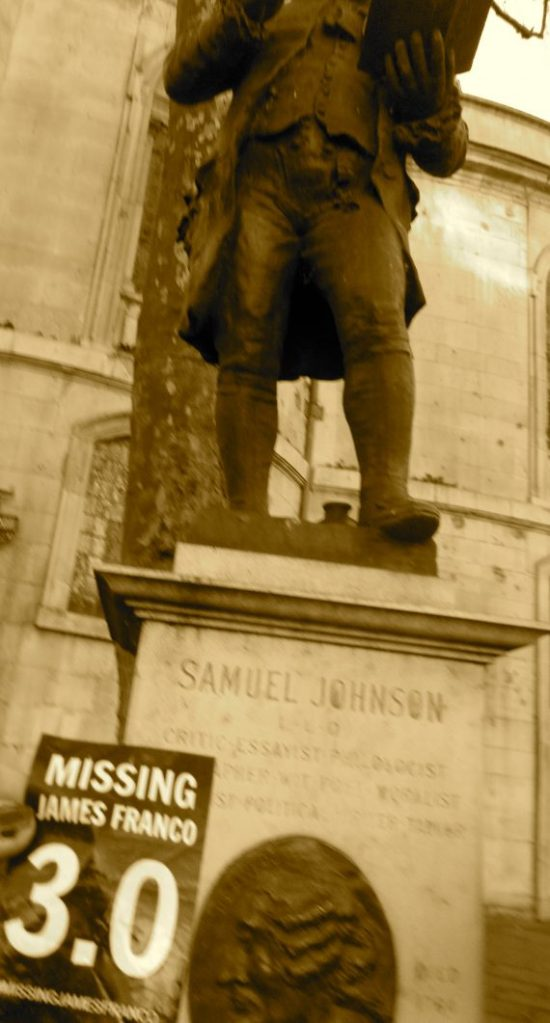 Samuel Johnson, critic and essayist.
