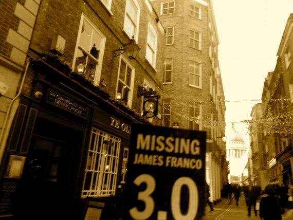 Watley Street, a Roman original, passing through the City of London.